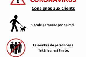 Affiche Coronavirus à compter du 11.05.20 543x768